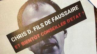 L'UDC colleur des affiches anti-Darbellay condamné