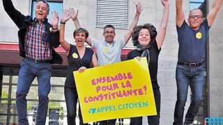 Constituante: dix-sept candidats Appel Citoyen sur Sierre