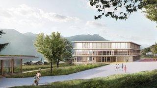 Chamoson: les travaux de la nouvelle école ont débuté