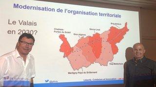 Constituante: le PLR veut redessiner le Valais