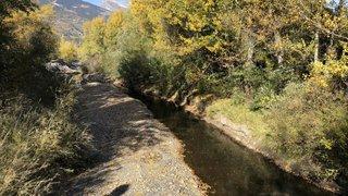 Sécheresse en Valais: la fonte des glaciers maintient les cours d'eau en vie