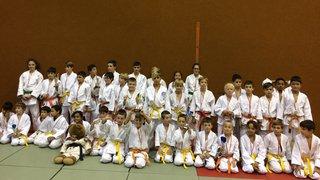 Le club de judo de Collombey-Muraz réalise une véritable razzia