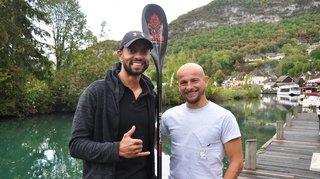 Stand up paddle: Nick Crettenand et Olivier Comazzi rois de l'Alpine Lakes Tour