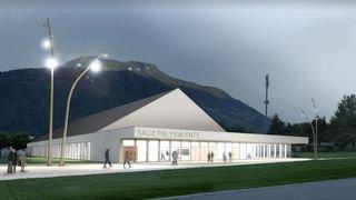 Conthey: 2,45 millions supplémentaires pour la salle polyvalente