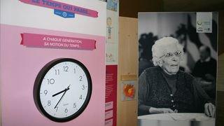 A Salvan, une expo dévoile le regard des élèves sur la condition de la personne âgée