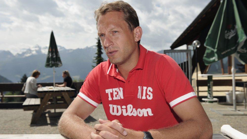 Yves Allegro, joueur et entraîneur de tennis.