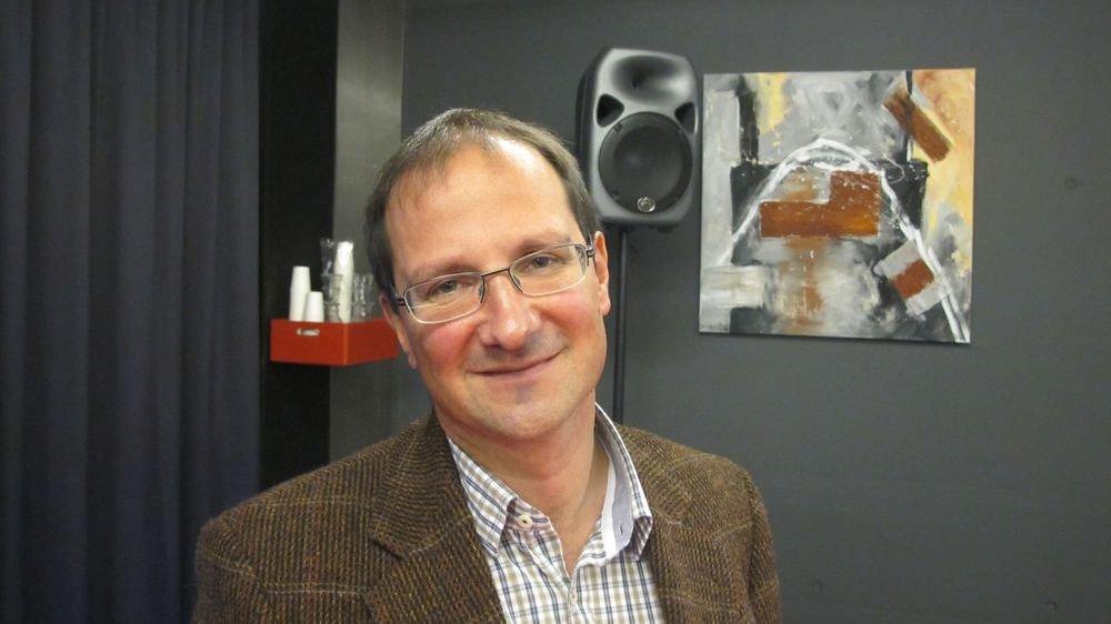 Emmanuel Reynard, géographe, Université de Lausanne.