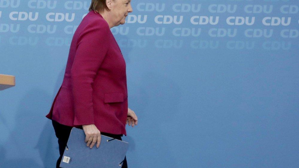 Angela Merkel règle  la fin de sa carrière