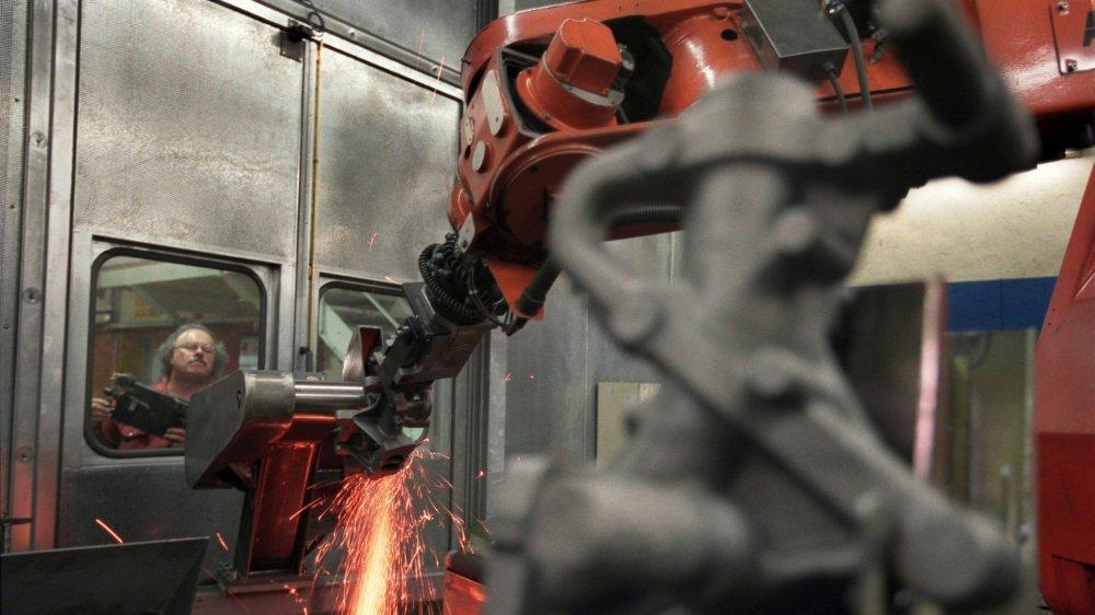 Le robot «améliore le cadre de travail»