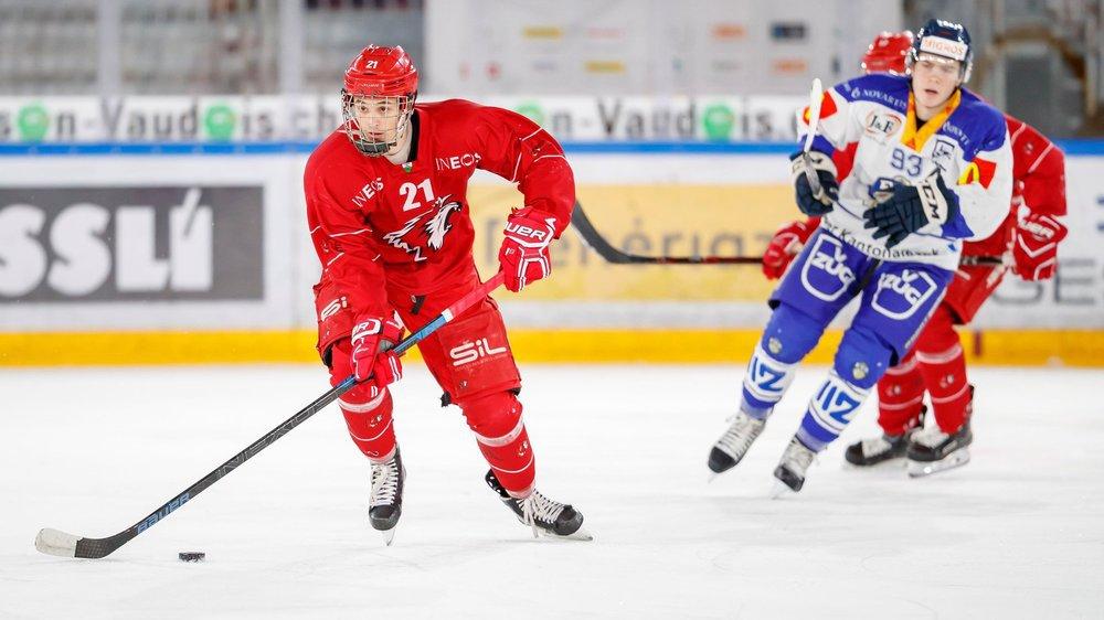 Nathan Vouardoux poursuit sa formation avec les juniors élites A à Lausanne. Idéalement, il devrait pouvoir côtoyer des adultes le plus vite possible.