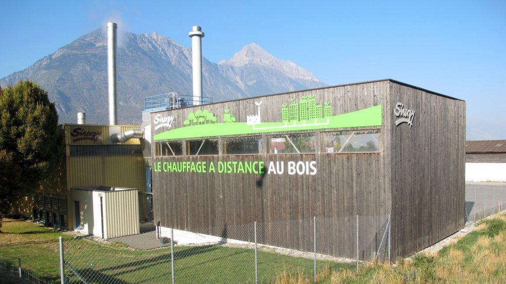 Pour augmenter encore la part d'énergie renouvelable dans son réseau de chauffage à distance (CAD), la ville de Martigny va mettre en fonction, d'ici à 2020, une deuxième chaudière à bois.