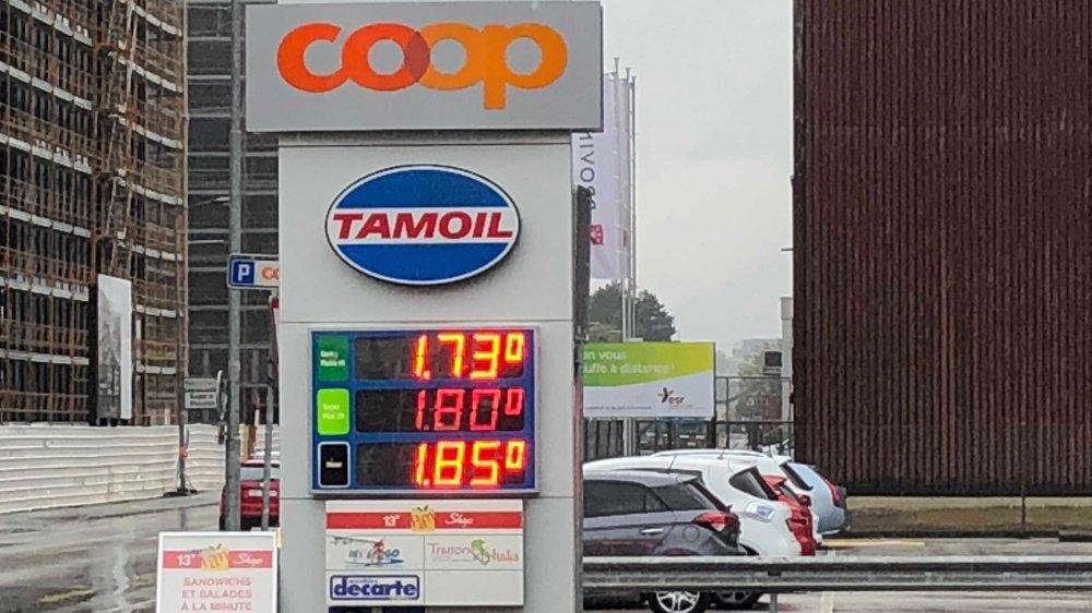 Les prix à la pompe atteignent des niveaux pour le moins élevés en Valais.