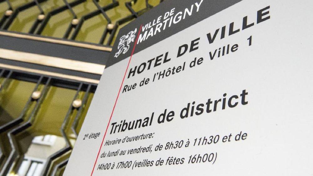 Le procès de l'avocat valaisan a eu lieu devant le Tribunal de district de Martigny, ce lundi.