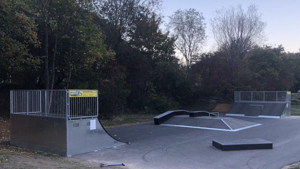 Désormais en fonction, le skatepark de Saint-Maurice sera officiellement inauguré au printemps 2019.
