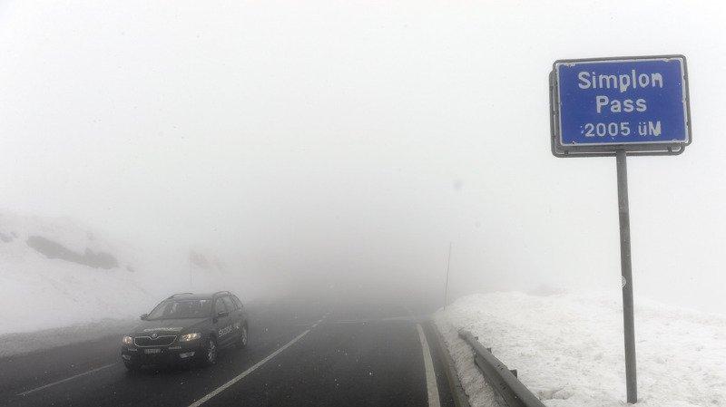 Intempéries: le col du Simplon fermé à tous les véhicules, plusieurs autres tronçons clos