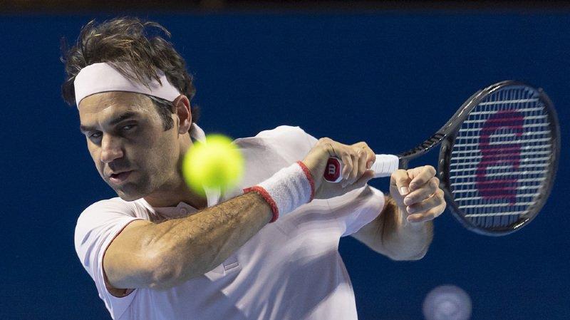 Tennis - Swiss Indoors de Bâle: Federer bat Struff en deux sets et file en quarts de finale