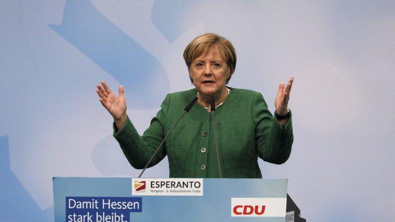 Angela Merkel tire les conséquences des revers de la CDU en Bavière et en Hesse.