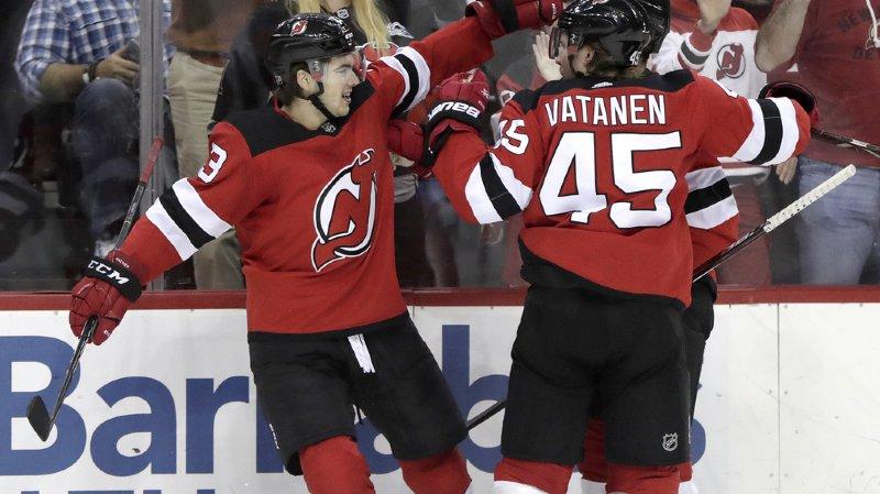 Hockey sur glace - NHL : deux assists et la victoire pour Nico Hischier
