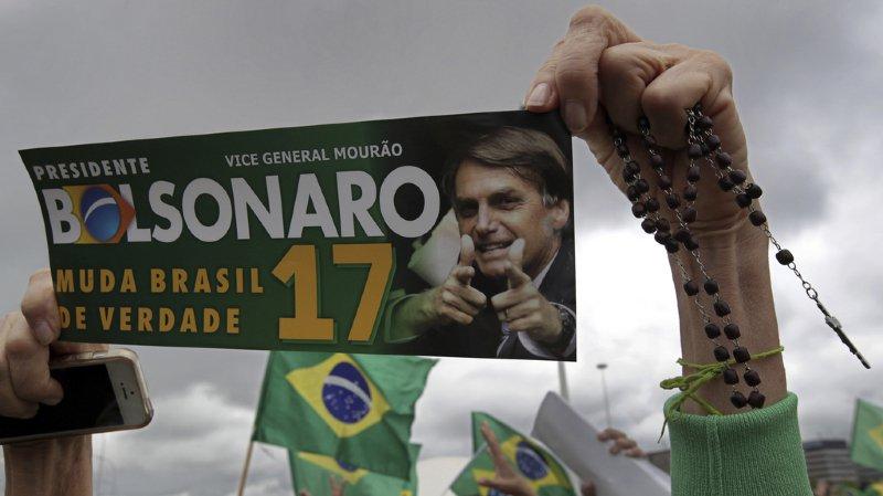 Brésil: élections présidentielles ce dimanche, risque de bascule à l'extrême droite