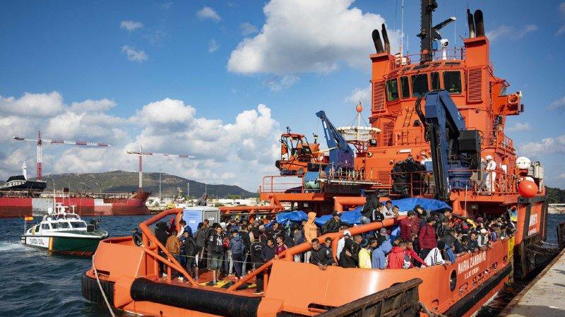 Dix-huit migrants trouvent la mort en tentant de rejoindre l'Espagne par la mer