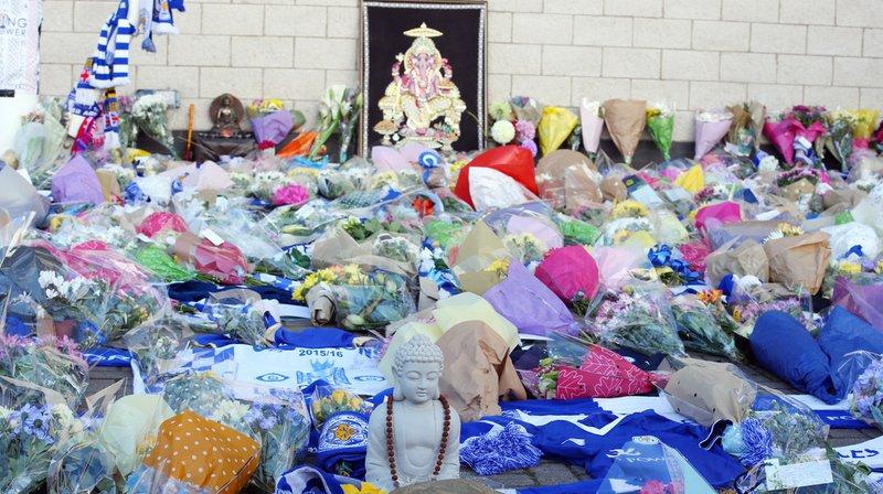 Football: le président de Leicester City est décédé dans le crash de son hélicoptère