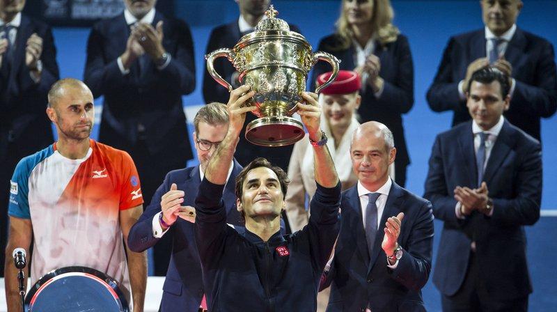 Tennis - Swiss Indoors: Roger Federer victorieux face à Marius Copil, 9e titre en son jardin pour le Bâlois