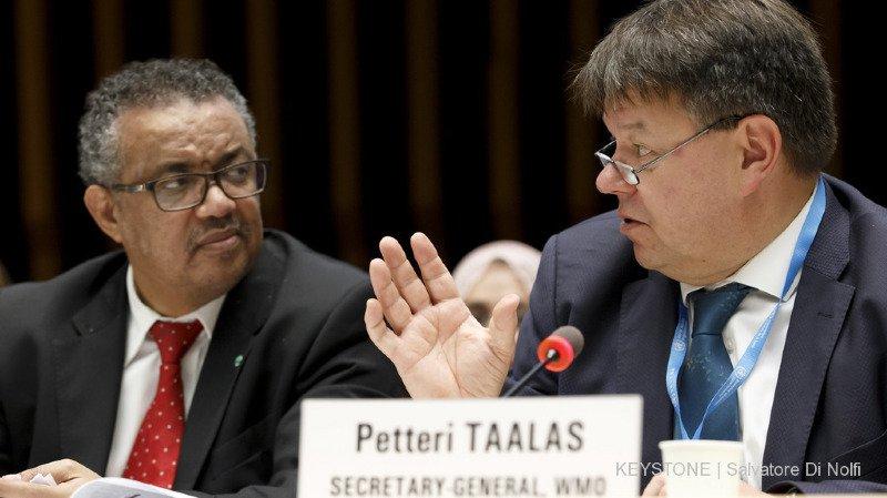 Tedros Adhanom Ghebreyesus, directeur général de l'Organisation mondiale de la santé et Petteri Taalas,secrétaire général de l'Organisation météorologique mondiale tirent la sonnette d'alarme.