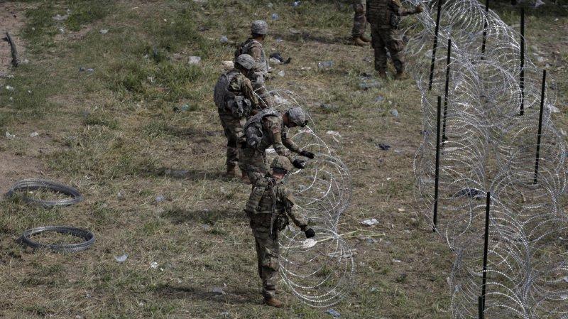 Etats-Unis: 7000 militaires déployés à la frontière pour faire face à l'arrivée des migrants