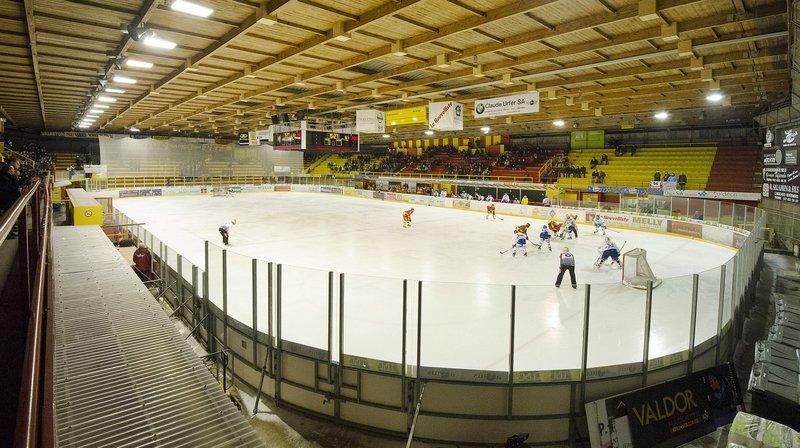 La patinoire de Graben accueillera l'équipe de Suisse le 26 avril prochain