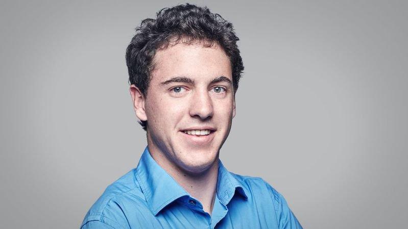 Jonas Egli quitte la présidence du PLR du Haut-Valais.