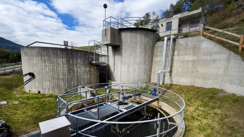 Trop d'eau propre dans les stations d'épuration valaisannes