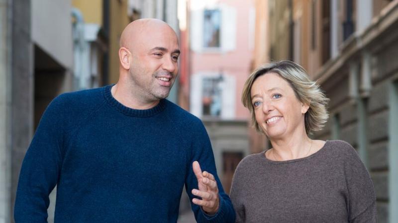 Frédéric Recrosio et Brigitte Rosset, deux amis qui vous veulent du bien
