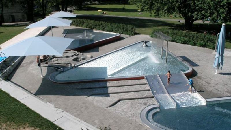 Les bassins pour les plus petits vont être entièrement repensés et modernisés.