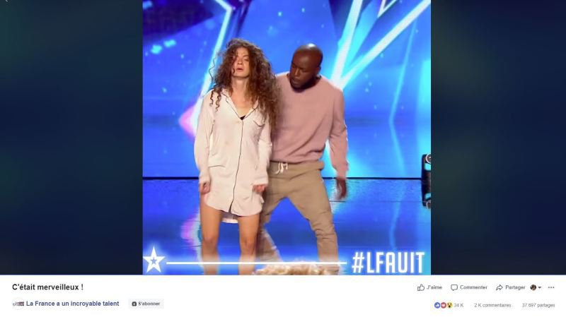 La France a un incroyable talent: La vidéo bouleversante en avant-première d'un couple qui danse contre les violences conjugales avant l'émission de mardi prochain sur M6