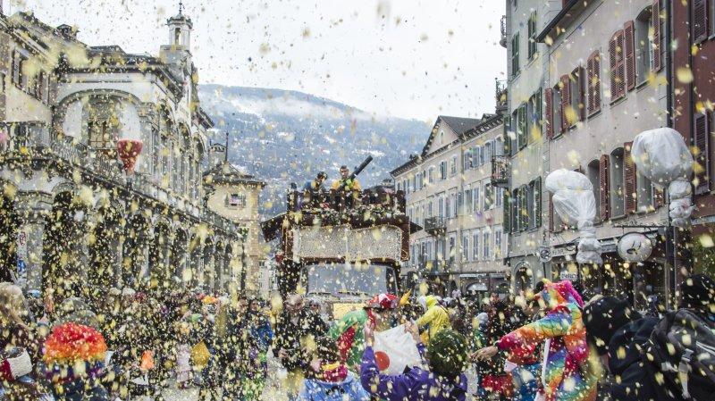 Coronavirus: le carnaval de Sion tire la prise