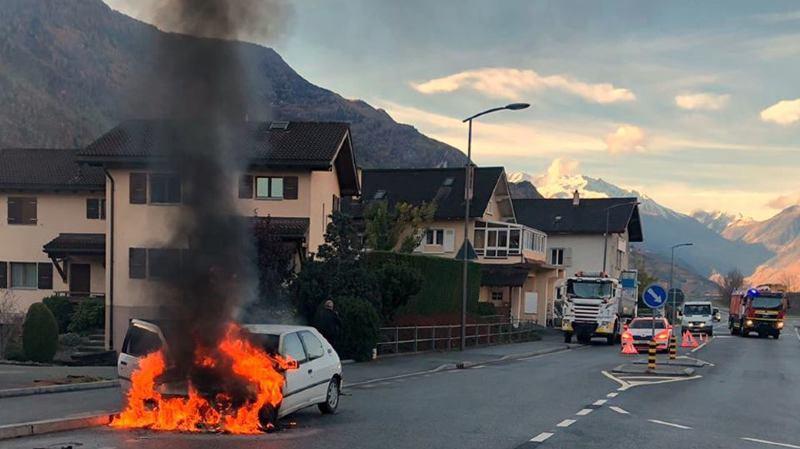 Personne n'a été blessé dans l'incendie.