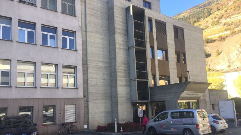 L'hôpital de Martigny fera l'objet d'un exercice d'évacuation ce mardi matin.