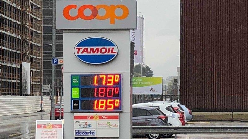 Carburants: les prix à la pompe atteignent des sommets