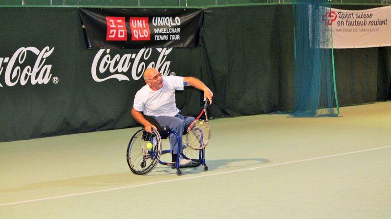 Tennis en fauteuil roulant: du beau spectacle au Sion Indoor
