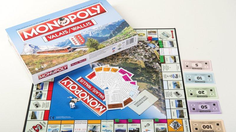 Le Monopoly version valaisanne est désormais disponible.