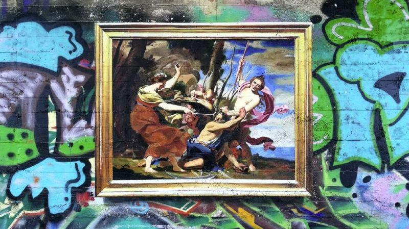Les oeuvres de Julio Anaya Cabanding semblent des tableaux tout droit sortis d'un musée.