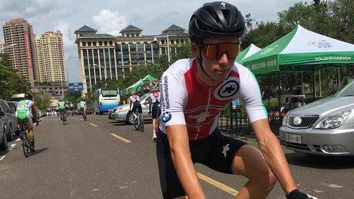 Simon Pellaud tourne autour d'une victoire depuis quelques semaines.