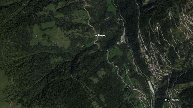 Les tronçons concernés sont celui qui traverse le village de Pinsec et la route entre la sortie de Vissoie et Saint-Luc.