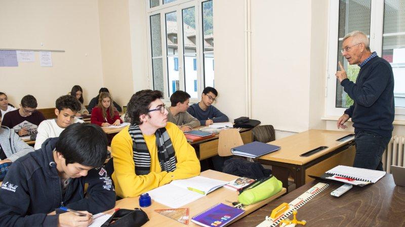 Collège de l'Abbaye de Saint-Maurice: la filière bilingue français-anglais cartonne