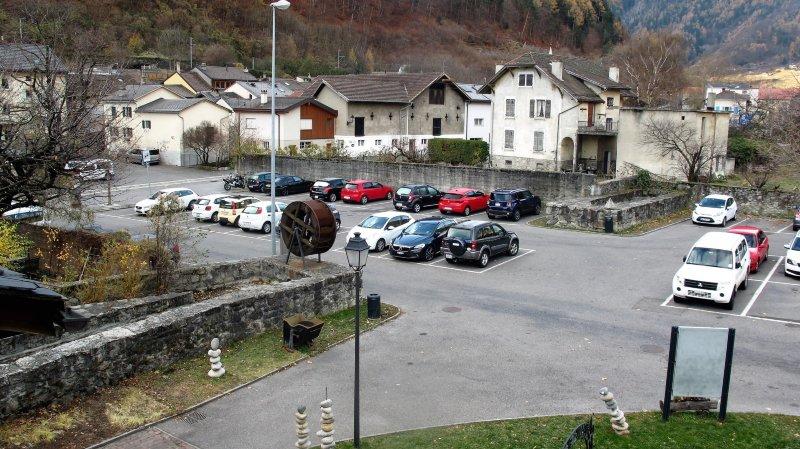 Les travaux de construction du parking souterrain du Semblanet, à Martigny-Bourg, vont bientôt commencer.