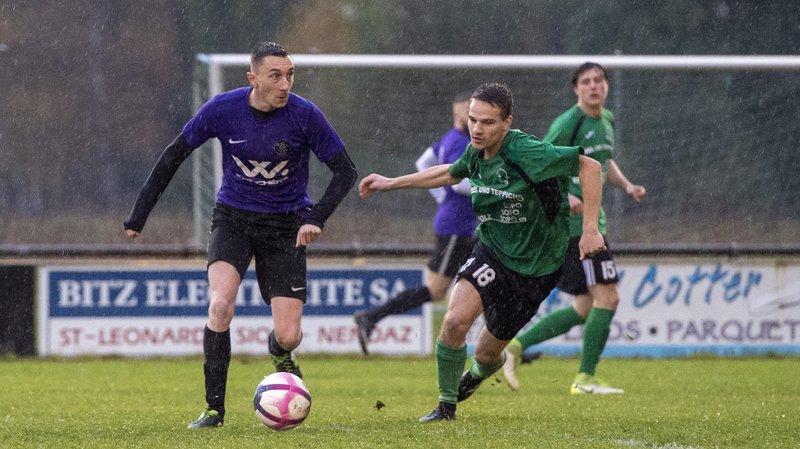 Guillaume Rota (à gauche) avait bien réduit l'écart peu après l'heure de jeu.