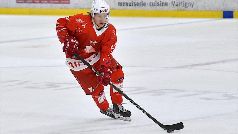 Romain Seydoux joue désormais pour le HCV Martigny en MS League.