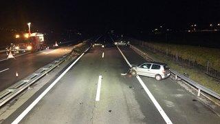 Accident mortel sur l'A9 à hauteur de Chamoson: la police lance un appel à témoins