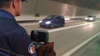 Valais: flashé à plus de 200 km/h sur l'autoroute