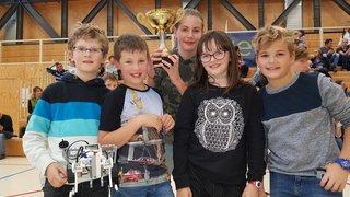 Les écoliers d'Orsières meilleurs programmeurs de robots du Valais